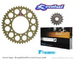 Renthal Sprockets and Tsubaki Alpha O-Ring Chain - Ducati M1000 Monster (2003-2004)
